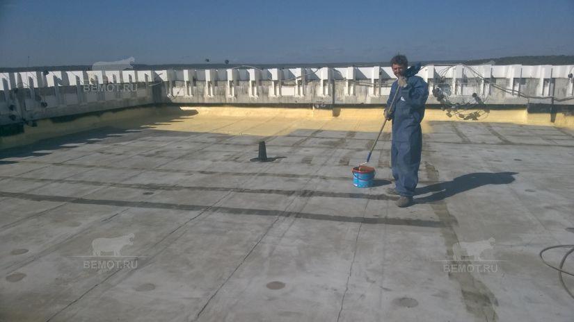 подготовка к ремонту крыши склада