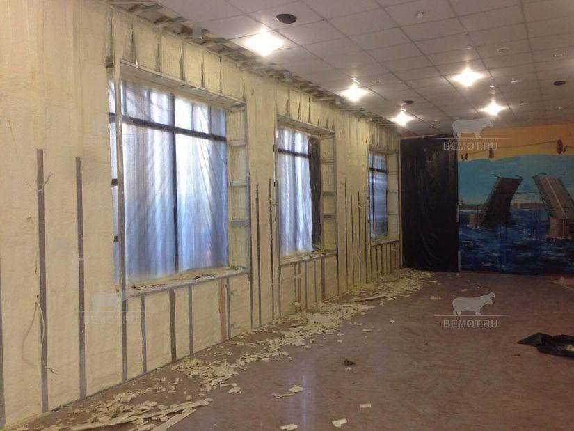 Напыление утеплителя (ППУ) на стены изнутри