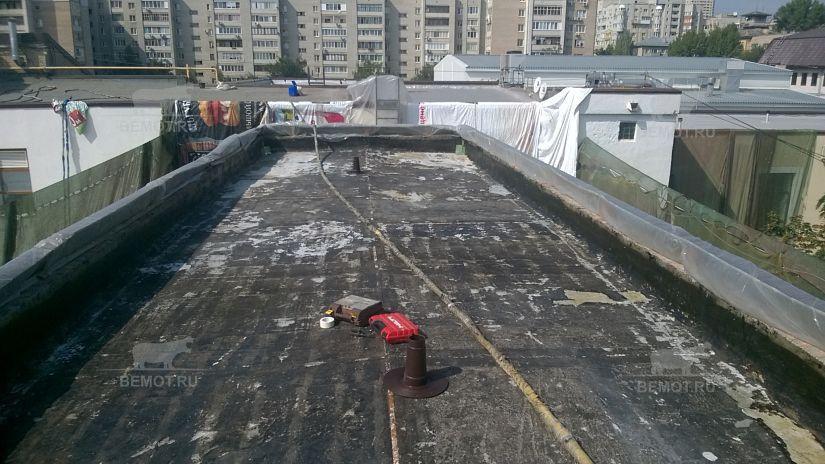 Капитальный ремонт крыши здания без снятия старого слоя