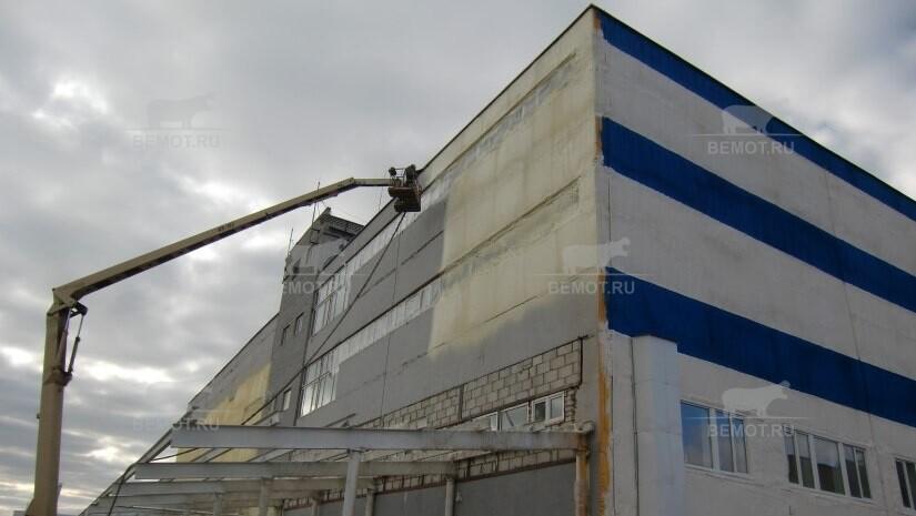 утепление промышленных зданий