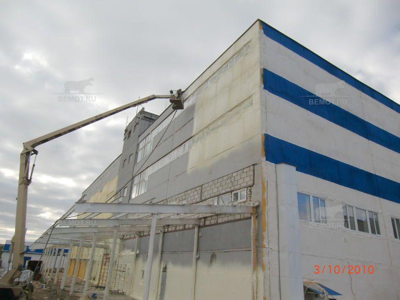 Утепление склада пенополиуретаном под покраску