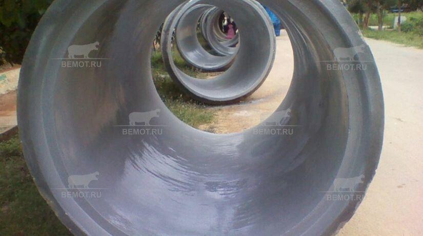 гидроизоляция полимочевиной бетонных труб изнутри