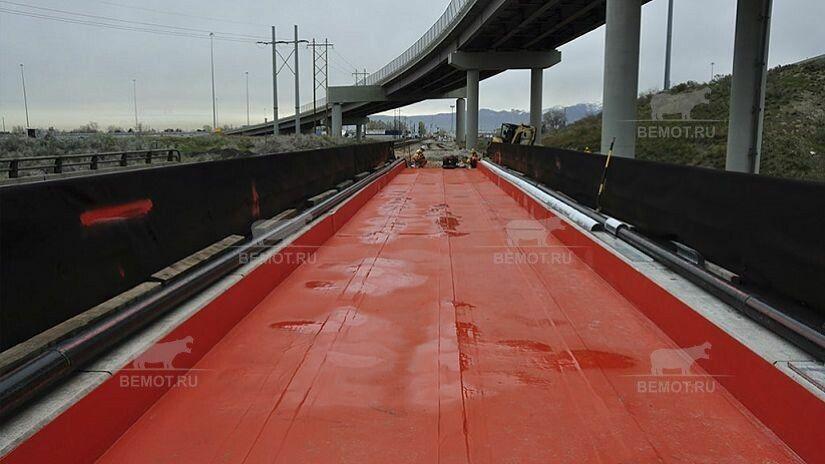 гидроизоляция полимочевиной моста