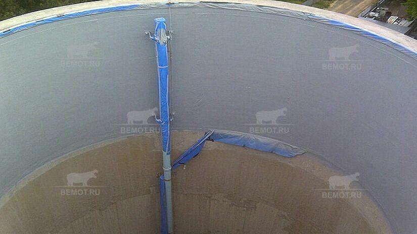 гидроизоляция пожарных резервуаров с помощью полимочевины