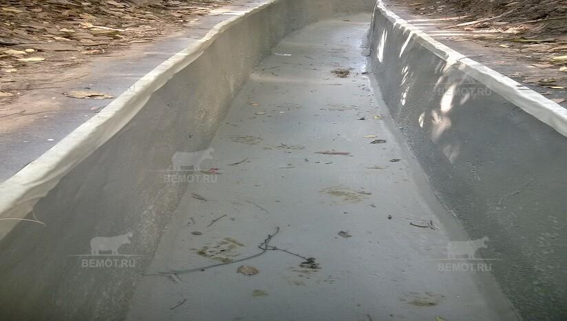 гидроизоляция бетонного канала полимочевиной