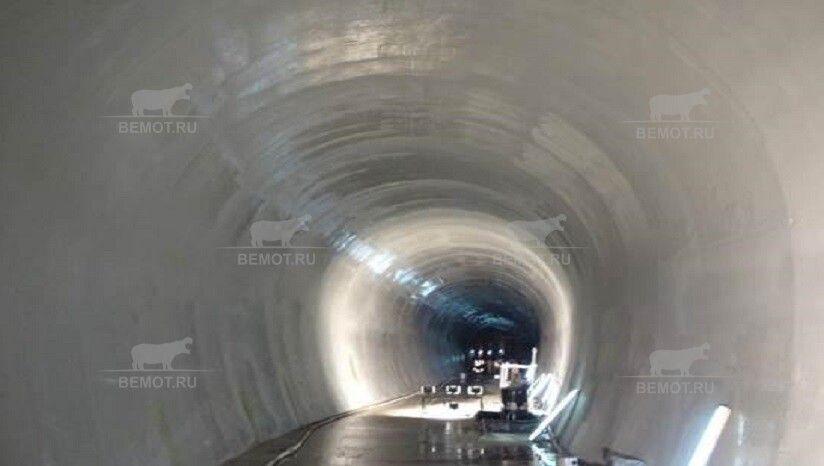 напыление ПМ на стены тоннеля