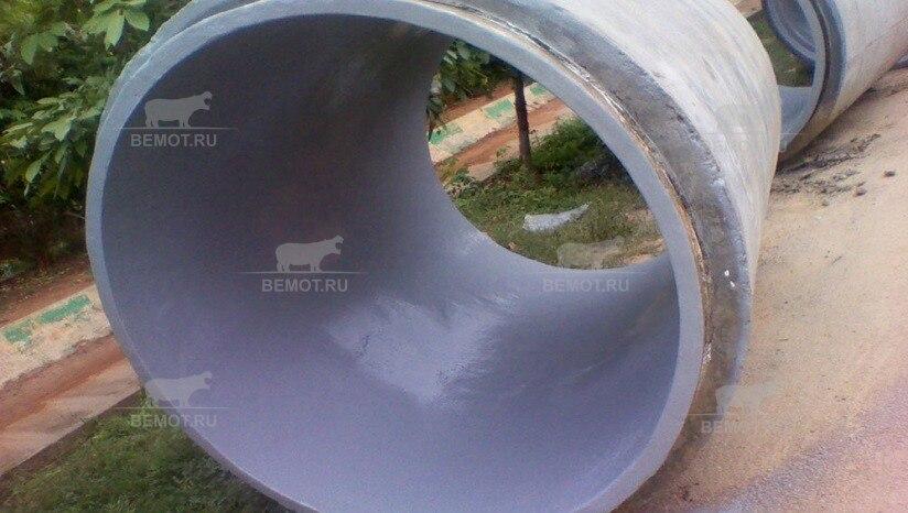 гидроизоляция бетонных труб полимочевиной изнутри