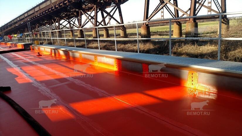 Гидроизоляция полимочевиной мостовых сооружений