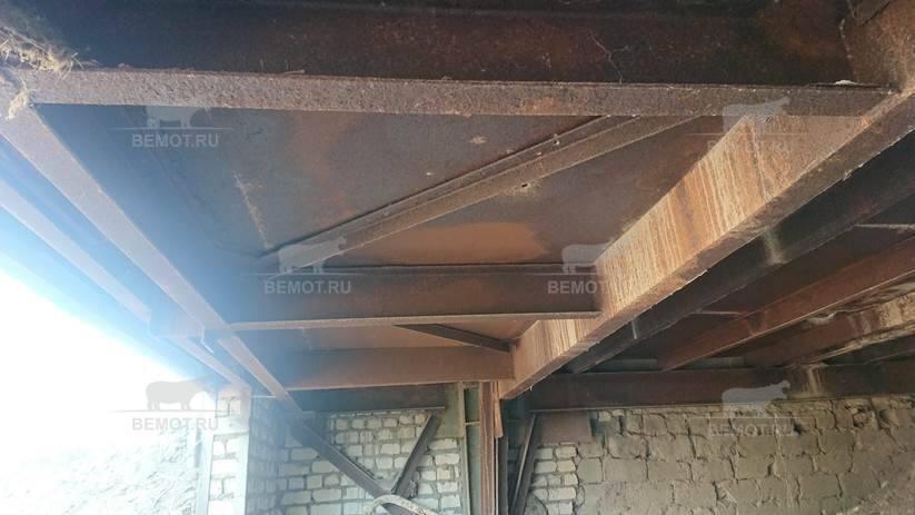 Несущие конструкции здания, требующие нанесение пены тонким слоем