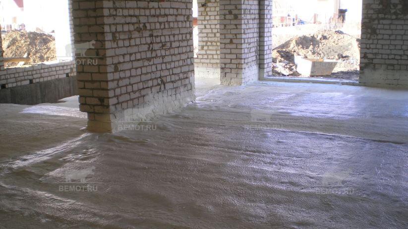Теплоизоляции перекрытия подвального помещения «по полу» пенополиуретаном